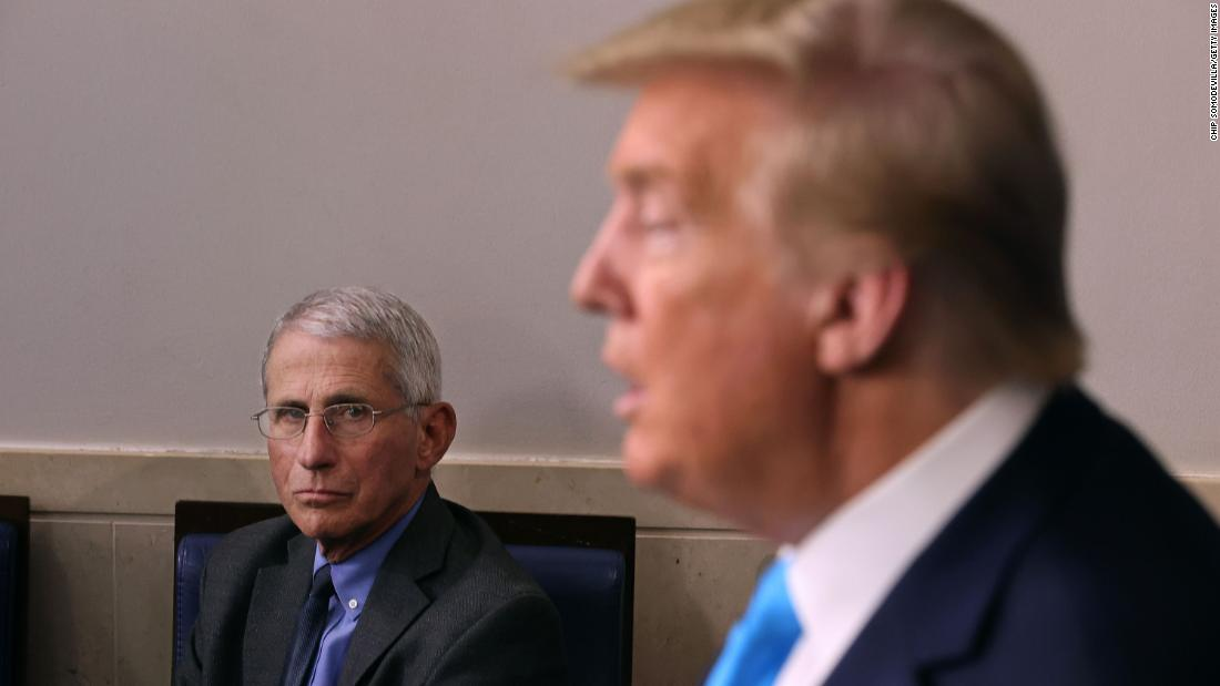 Trump bashes Fauci: He's a disaster