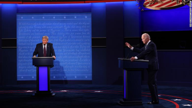 Debate commission announces topics for final debate between Trump and Biden