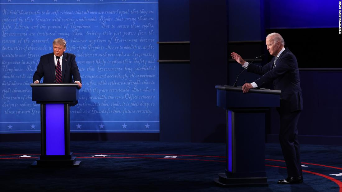 With town hall debate canceled, Biden and Trump seek out their own town halls