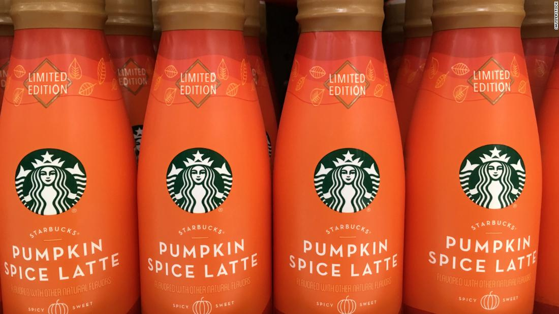 Pumpkin spice latte flavor, amped up with sugar, is not one that is found in nature.