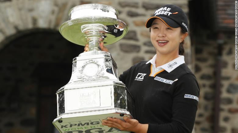 Sei Young Kim wins first major at Women's PGA Championship