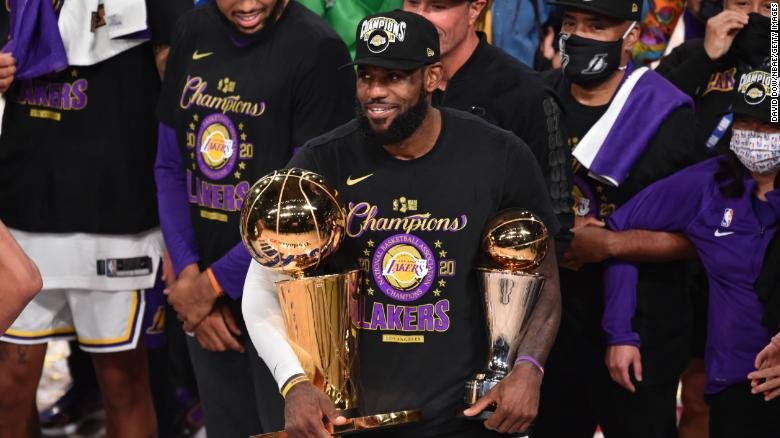 LeBron James called his mom right after winning the NBA Championship