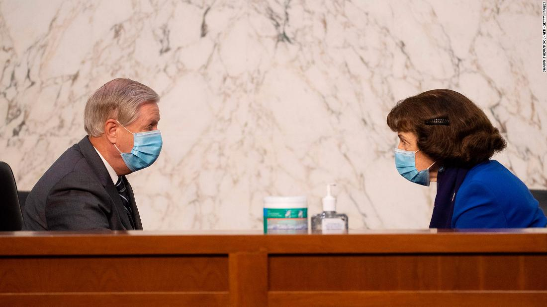Graham sets the stage for Barrett's quick confirmation as hearings get underway