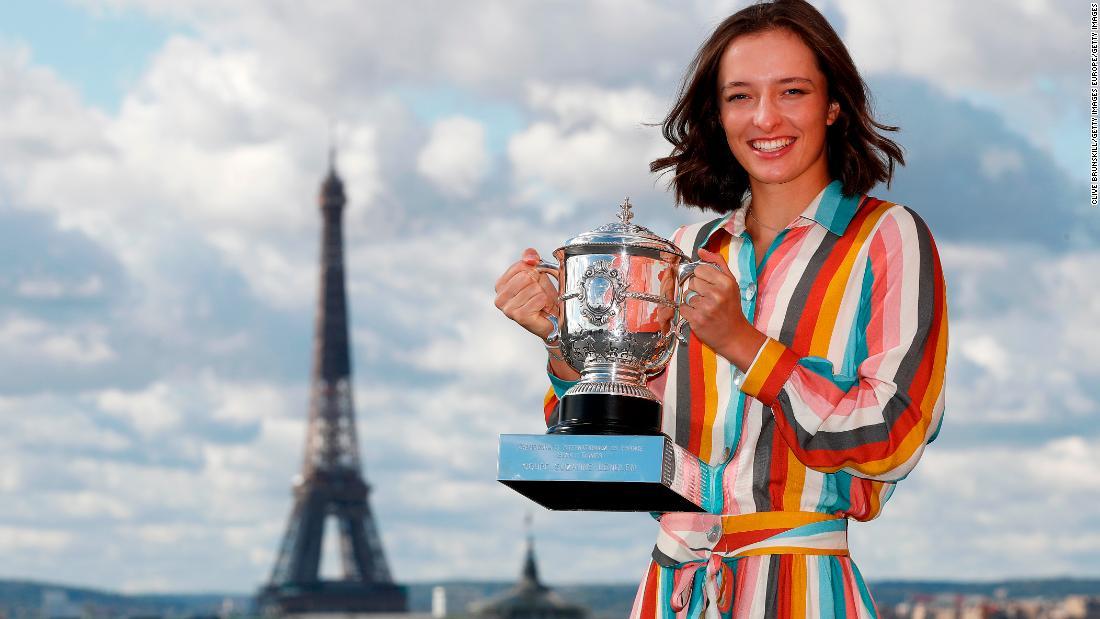Iga Swiatek on winning 2020 French Open