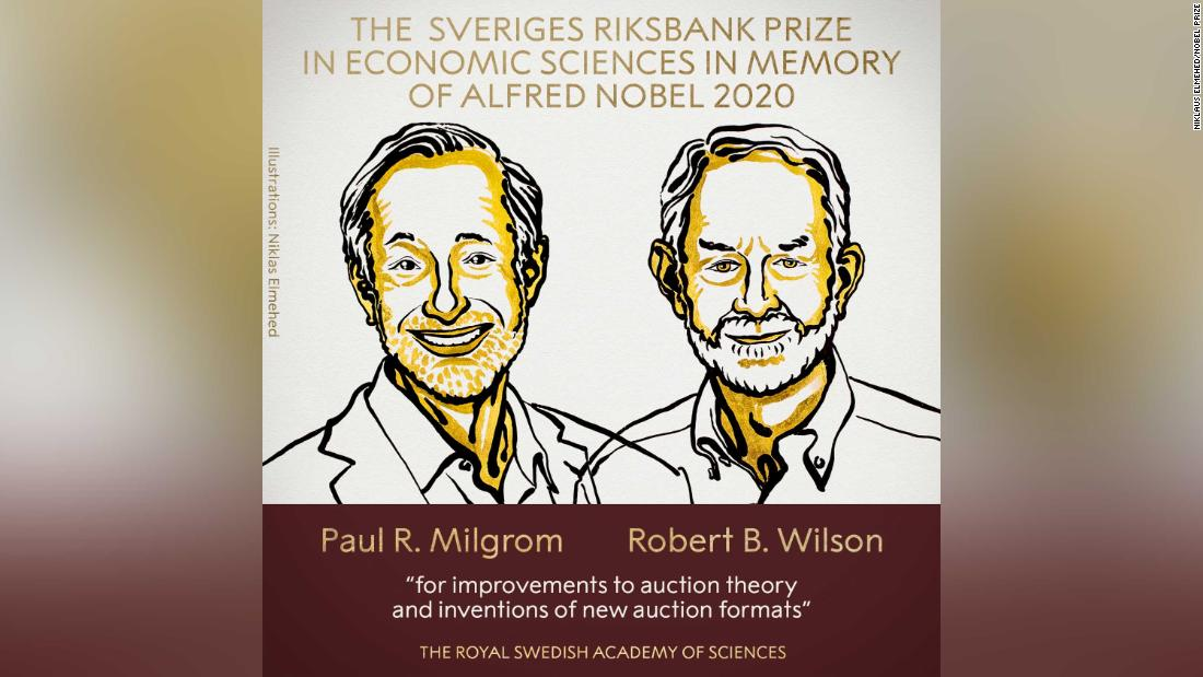 Nobel Prize in economics awarded to Paul Milgrom and Robert Wilson – CNN