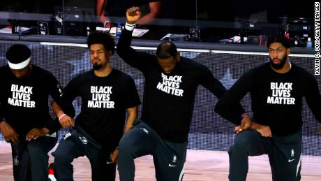 LeBron James has been one of the leading figures speaking out about social injustice and systemic racism while inside the NBA Bubble.
