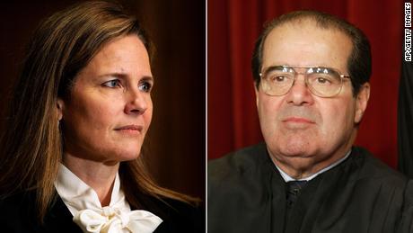 Antonin Scalia's legacy looms over the Amy Coney Barrett hearings