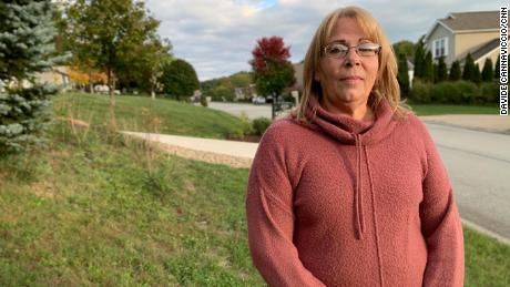 The President's handling of the pandemic was the final straw for Julie Brady, 51, a registered Democrat who voted for Donald Trump in 2016 and now plans to vote for Joe Biden.
