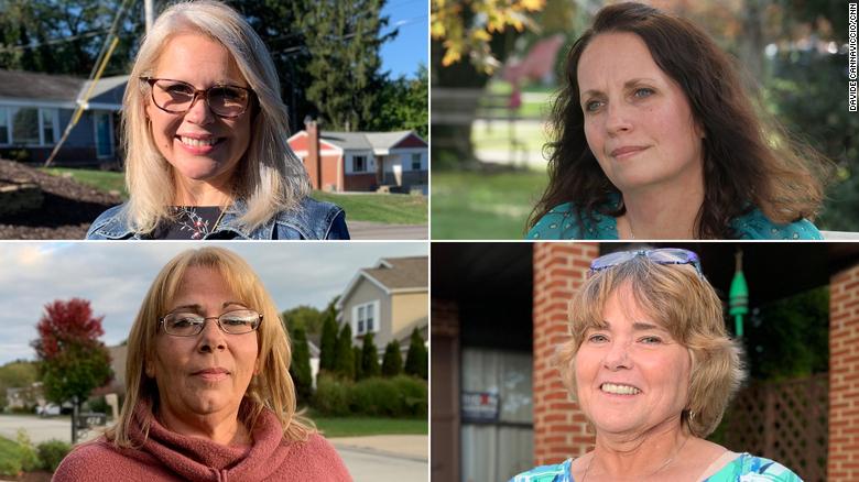 The Pennsylvania women Trump has lost
