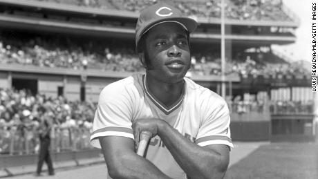 Joe Morgan earned All-Star honors in each of his eight seasons with the Reds.