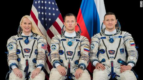 Astronaut NASA, ruskí kozmonauti štartujú na vesmírnu stanicu