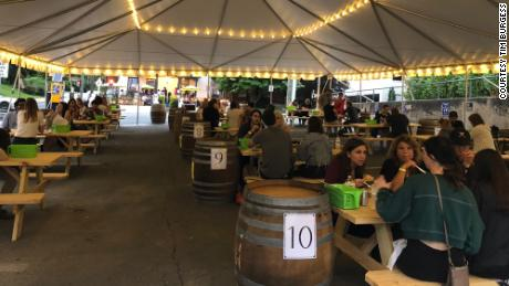 Restaurant owner Tim Burgess said outdoor dining has kept his restaurants afloat over the past several months, but he worries winter weather will mean fewer customers.