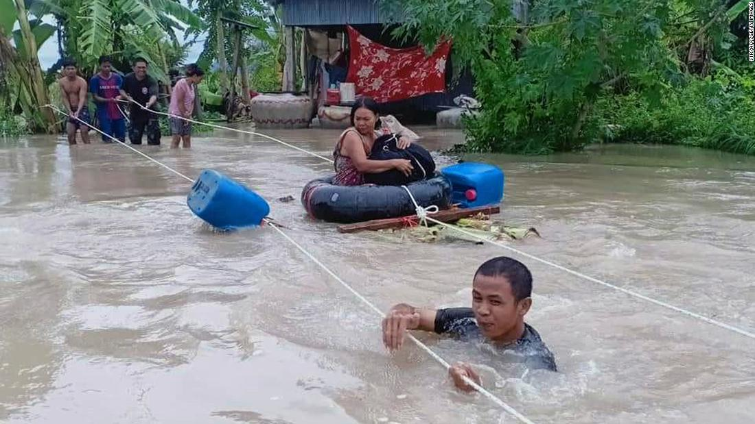 Dozens killed in floods across Southeast Asia as tropical storm Nangka approaches