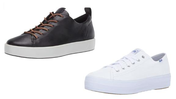 Top footwear brands including Keds, Ecco and Aldo