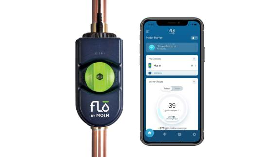 Moen 900-006 Flo by Moen 1-Inch Smart Water Shutoff