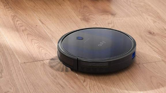 Save as much as 50% off a Eufy robot vacuum cleaner.