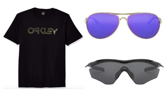 Oakley sunglasses and apparel