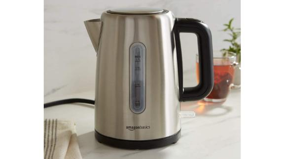 AmazonBasics Portable Hot Water Kettle for Tea and Coffee