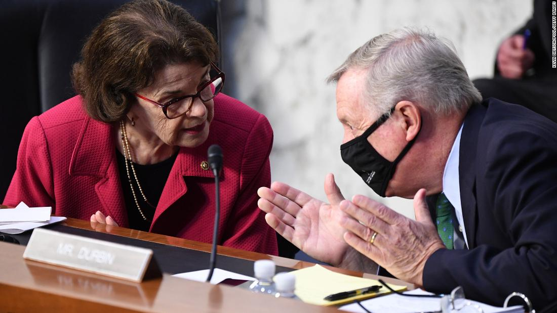 Senate Democrats handled Barrett cautiously, prompting some activists to fume over Feinstein