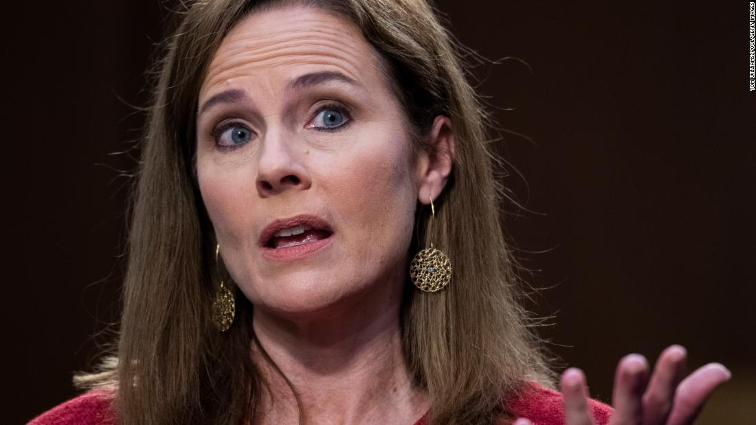 Takeaways from Day 2 of the Amy Coney Barrett confirmation hearings – CNN