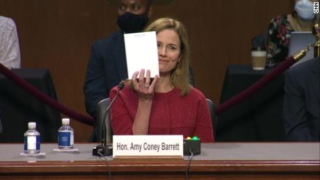 The art of the dodge: Amy Coney Barrett's 11 hours in the Senate hot seat