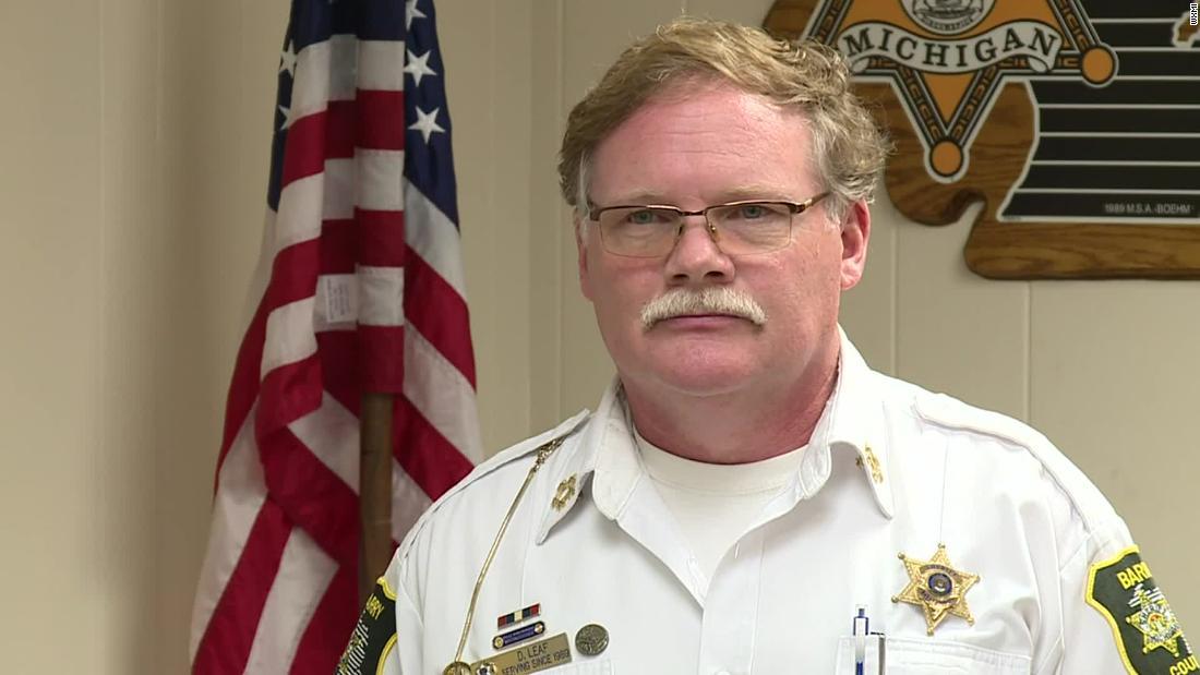 Michigan sheriff spoke in defense of accused domestic terrorists