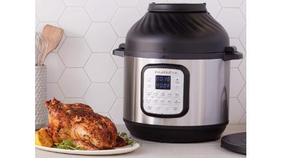 Instant Pot Duo Crisp Pressure Cooker 11-in-1 With Air Fryer