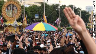 Thailand's unprecedented revolt pits the people against the King