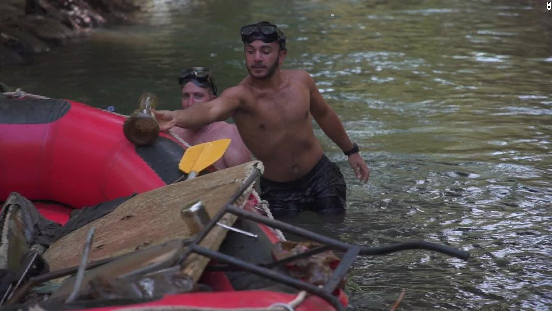 Israeli group takes advantage of lockdown to clean up river. See what they did
