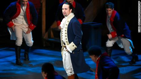 The original 'Hamilton' cast will reunite to host a virtual fundraiser for Joe Biden