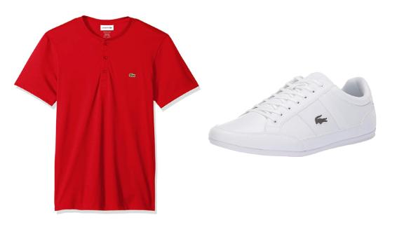 Lacoste Apparel, Shoes and Underwear