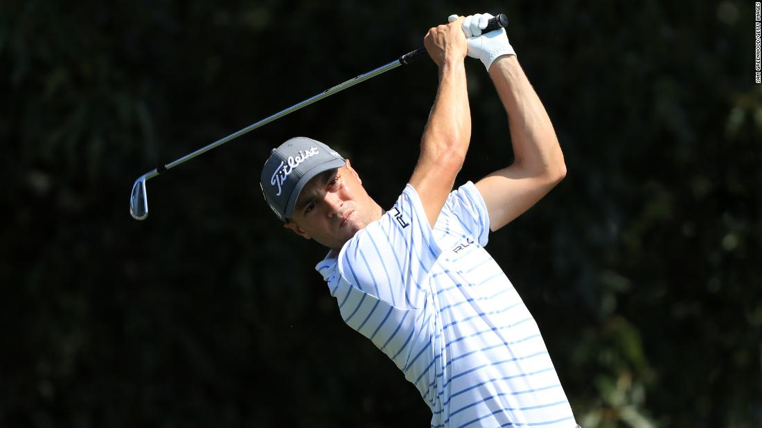 Justin Thomas: 'Playing without fans is the hardest part'
