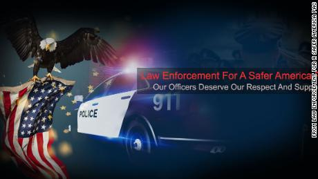 An image from Law Enforcement For A Safer America PAC's Facebook page.
