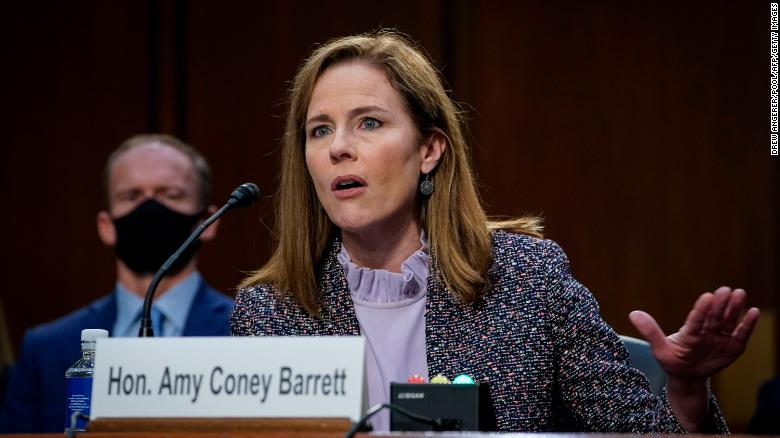 Amy Coney Barrett grilled on voting rights as 2020 election is underway