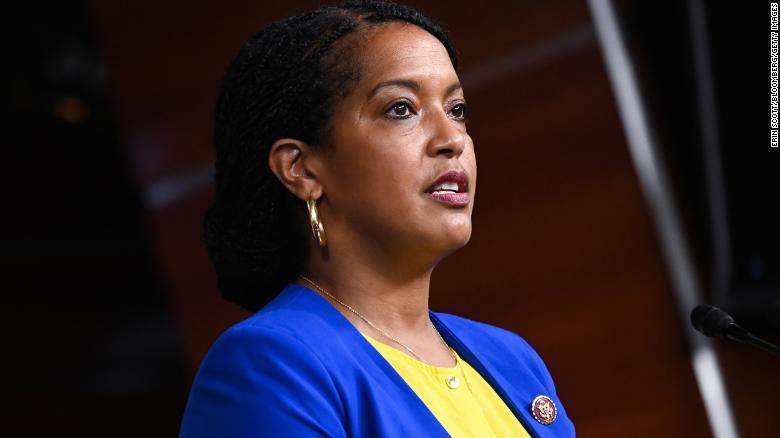 A virtual town hall hosted by Connecticut's first Black Congresswoman was interrupted by racist trolls