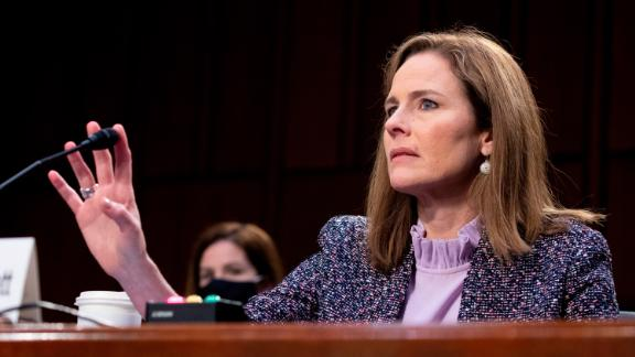 Democrats tried to pin down Barrett on a number of topics she could hear in the future. Barrett often declined to engage with senators on key issues, citing a standard not to discuss cases that she could be hearing in the future.