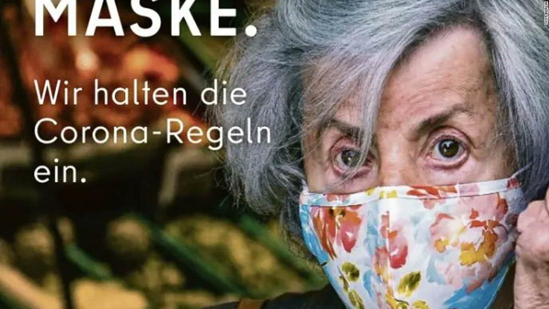 Berlin tourism ad flips the bird to mask refuseniks