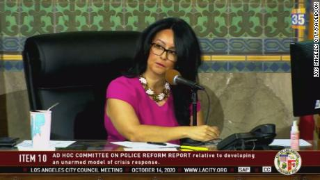 "Los Angeles City Council President Nury Martinez calls approval of the plan a ""seminal moment in LA history."""