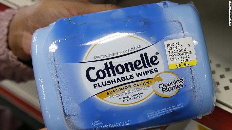 Some Cottonelle flushable wipes have been recalled for possible bacterial contamination