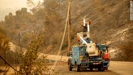 About 40,000 PG&E customers in California lose power over fire danger