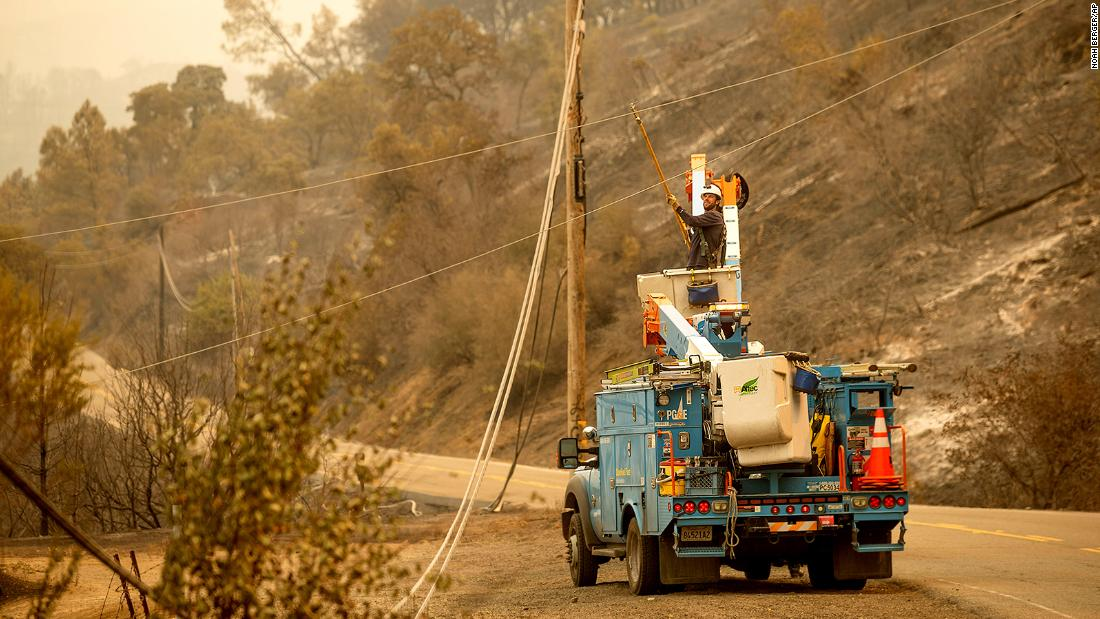 Nearly 53,000 PG&E customers in California begin losing power over fire danger