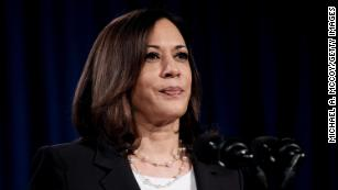 Democratic Vice Presidential nominee Sen. Kamala Harris (D-CA.), delivers remarks during a campaign event on August 27, 2020 in Washington, DC.