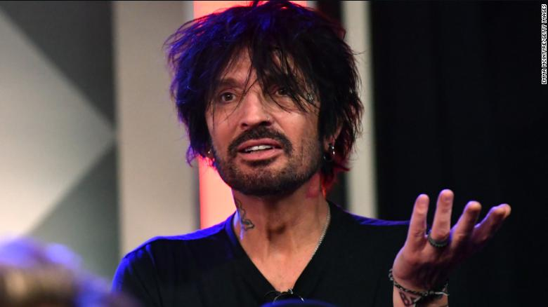 Rock star Tommy Lee says he'll leave the country if Trump is reelected
