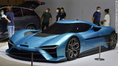 Electric car maker Nio was in a slump in March. Its stock is up 1,000% since then