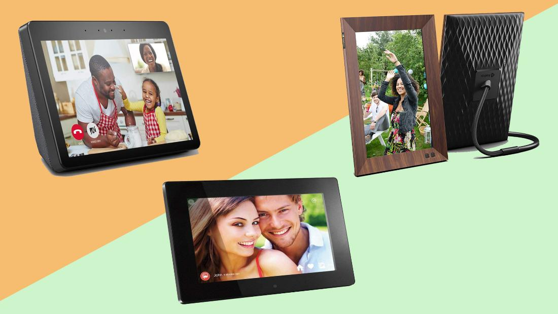 Stay connected with these digital photo frames