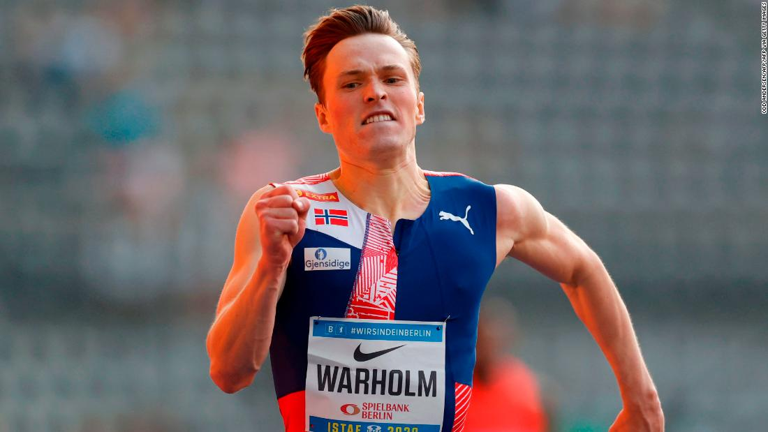 After the season of his life, Karsten Warholm wants to win athletics