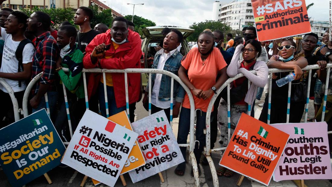 Nigerian police pledge ICRC training as thousands protest nationwide