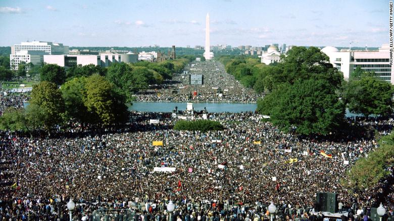 A look back at the Million Man March, 25 years later