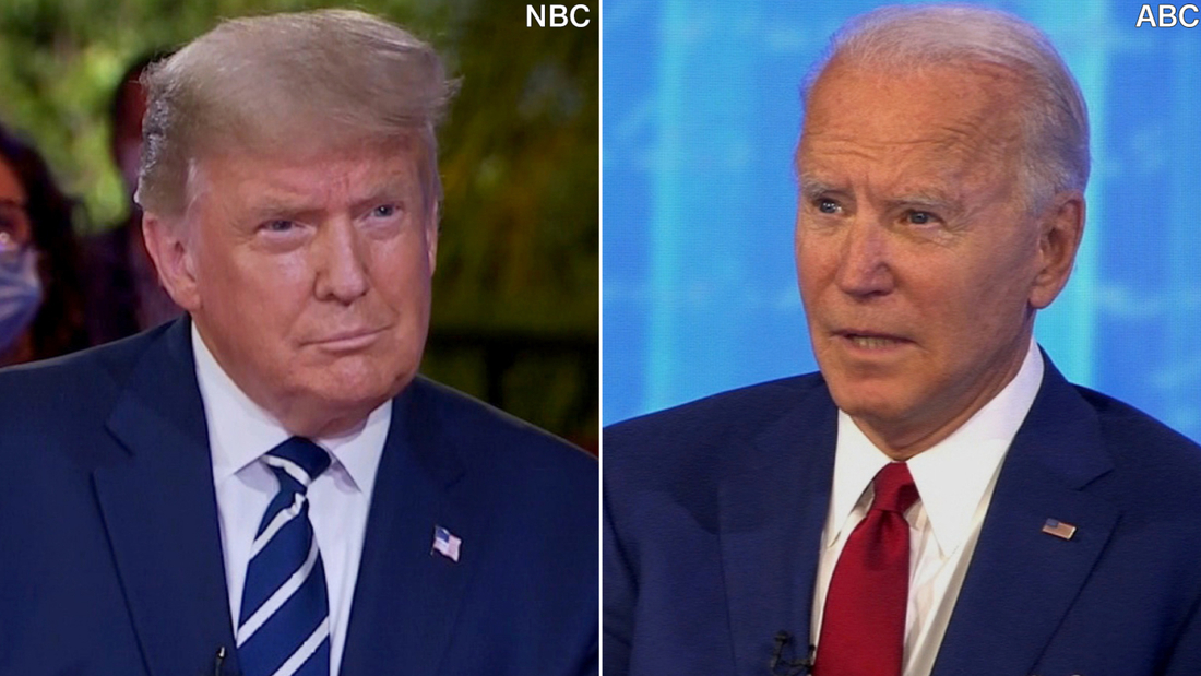 Trump and Biden town halls: 5 takeaways