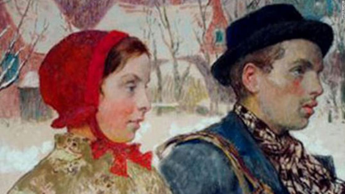 Decades after Nazis looted artwork from a Jewish family fleeing Germany in 1933, a painting was returned to the rightful heirs